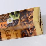 편평한 바닥 삼각천은 위로 서 있다 광택이 없는 Ziplock (ML-E19)를 가진 Zip 자물쇠 또는 플라스틱 패킹 부대를 가진 알루미늄에 의하여 박판으로 만들어진 커피 주머니를