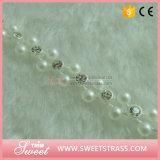 バルク補給の普及した真珠のリボンのトリミングテープ装飾