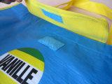 Sacola impressa pré-fabricada customizada reciclado de PP não tecida