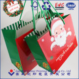 Bolso de papel del regalo de la Navidad