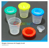 Plastic colorido Brush Washer Pot para Kids y Students