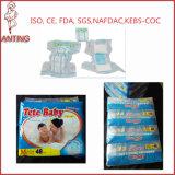 Les couches pour bébés jetables jetables Sleepy Print pour les clients autorisés
