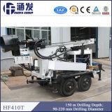 O mais popular no projeto do poço de água! Equipamento Drilling do reboque modelo de Hf410t para vendas