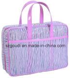 귀여운 형식 방수 PVC 여행 세면용품 세척 화장품 핸드백