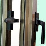 Finestra di alluminio della stoffa per tendine di profilo Kz287 con la lastra di vetro di difficoltà