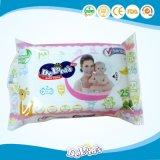 중국 공장 알콜 자유로운 아기 젖은 닦음