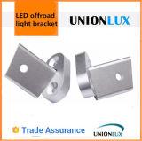 Unionluxの熱い販売オフロード作業ライトまっすぐなブラケットによって曲げられるLED棒ライト取付金具