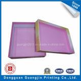 Картонная коробка коробки цветастой конструкции бумажная упаковывая