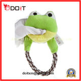 Peluche Frog Dog Toy Pet Toy avec Durable Rope