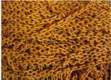 Chaîne de tige en acier de la couleur G70/G80 d'essai élevé jaune de zinc avec des crochets