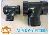 Dbr Heiß-Verkauf Produkte 1.5 Zoll ABS gesundheitliches T-Stück