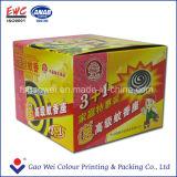 Персонализированные коробки логоса печати бумажные упаковывая