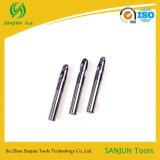 Tungsten Steel Carbide Special Shank Ball Nose End Mill with Coating