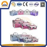 Argomento cosmetico acrilico di alluminio per trucco (HB-2101)