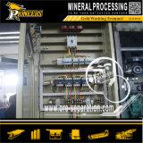 Macchine d'estrazione del giacimento detritico dell'oro dello schermo dell'attrezzatura mineraria del minerale metallifero mobile all'ingrosso dell'oro