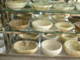 Dissipadores de pedra naturais populares, dissipadores de mármore e dissipadores de Marle