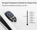 2016新開発LCDの表示のケラチンの使用の電気蒸気の毛のストレートナのブラシ