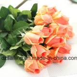 普及した単一の茎のローズの人工花(SW15551)