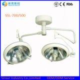 Lampen van het Type van Plafond van de Koepel van Shadowless de Koude Dubbele Chirurgische Werkende