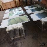 [كّر] صلبة سطحيّة حجارة إطار مرآة في غرفة حمّام