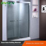 Алюминиевое приложение ливня раздвижной двери для ванной комнаты