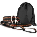 Lleva el kit colgante para las correas al aire libre de la hamaca del oscilación de la hamaca