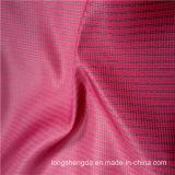 agua 75D y tela tejida chaqueta antiestática Viento-Resistente 100% del poliester del telar jacquar del Dobby del alpinismo (X056)