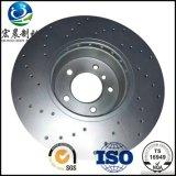 Les pièces d'auto d'OEM ont exhalé le rotor de freins à disque pour Opel ISO9001