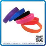Coutume Wristbands de 1 silicone de pouce (HN-SE-044)