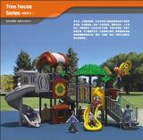 Campo da gioco per bambini della foresta di Kaiqi di tema di medie dimensioni di alta qualità (KQ10055A)