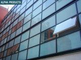 Mur rideau en verre évident transformé en unités Clading