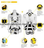 Volles Body Harness mit Waist Belt und EVA Block (EW0116H)