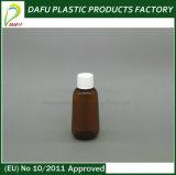 бутылка пластмассы рта малого размера 35ml жидкостная малая