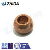 青銅色の球の形によって焼結させるブッシュの機械化