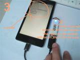 125kHz programa de lectura del USB RFID para leer los primeros 10 dígitos del sistema del androide del soporte de la tarjeta Tk4100