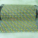 최신 판매 장식적인 Diamante 모조 다이아몬드 직물 메시