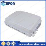 Fdb FTTH 24 코어 동맥 (FDB-024A)를 가진 백색 까만 광섬유 종료 상자