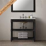 Vanidad moderna del cuarto de baño de madera sólida de Fed-1993c, gabinete de cuarto de baño