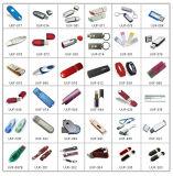 Lecteur flash USB noir classique de cadre de cadeaux en gros multicolore