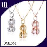 De in het groot Moderne Oostenrijkse Zilveren Charme van de Juwelen van het Kristal Shemale