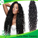 100%Indian Virgin Hair 또는 Deep Wave Hair/Remy Human Hair Extension