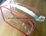 Personnalisé Eco-Friendly PVC transparent Zipper