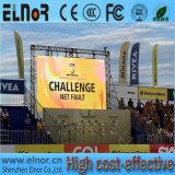 Pantalla de visualización impermeable al aire libre estándar de LED P10 de Europa