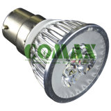 Projecteur Parlight d'E27 B22 3-5W DEL avec du ce