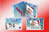 7inch affissione a cristalli liquidi Screen Video Brochure per Promotion, Business Gift