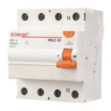 Interruttore corrente residuo caldo (KNL2-63)