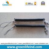 Stretchable просвечивающий ясный спиральн пуск 2PCS катушки W/Thumb ключевой цепи