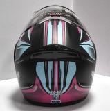 기관자전차 라이더 (LP501)를 위한 헬멧 높은 쪽으로 최신 판매 손가락으로 튀김