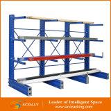 Shelving Cantilever de aço do armazenamento médio do dever para a exportação