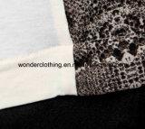 Plain Kint Fabric Fashion Lady Tank Topの印刷Fabric